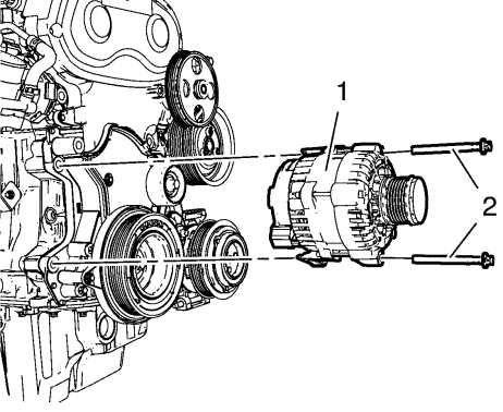 Замена генератора Chevrolet Cruze