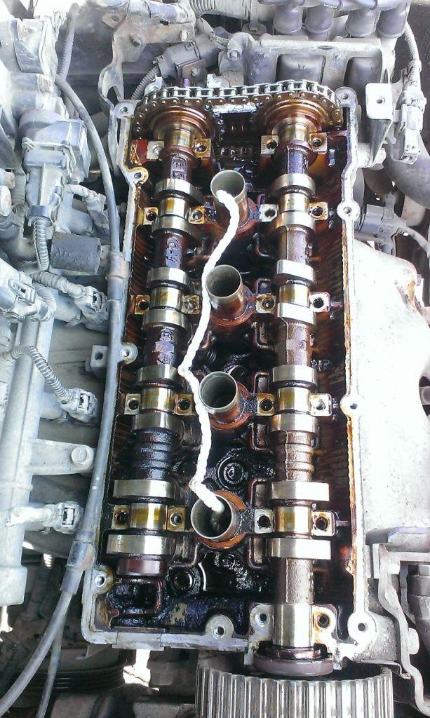 Замена маслосъёмных колпачков Hyundai Accent