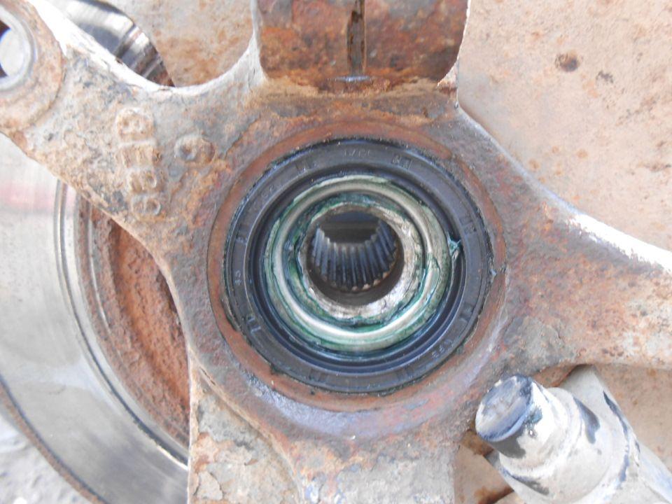 Замена переднего ступичного подшипника Chevrolet Spark