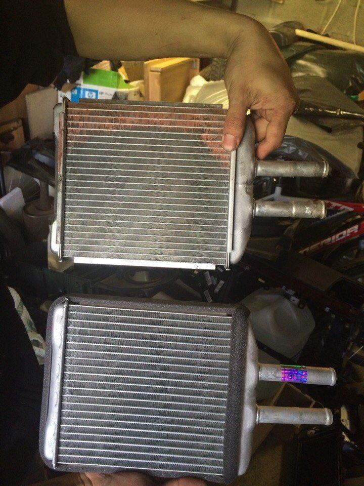 Замена радиатора отопителя Chevrolet Epica