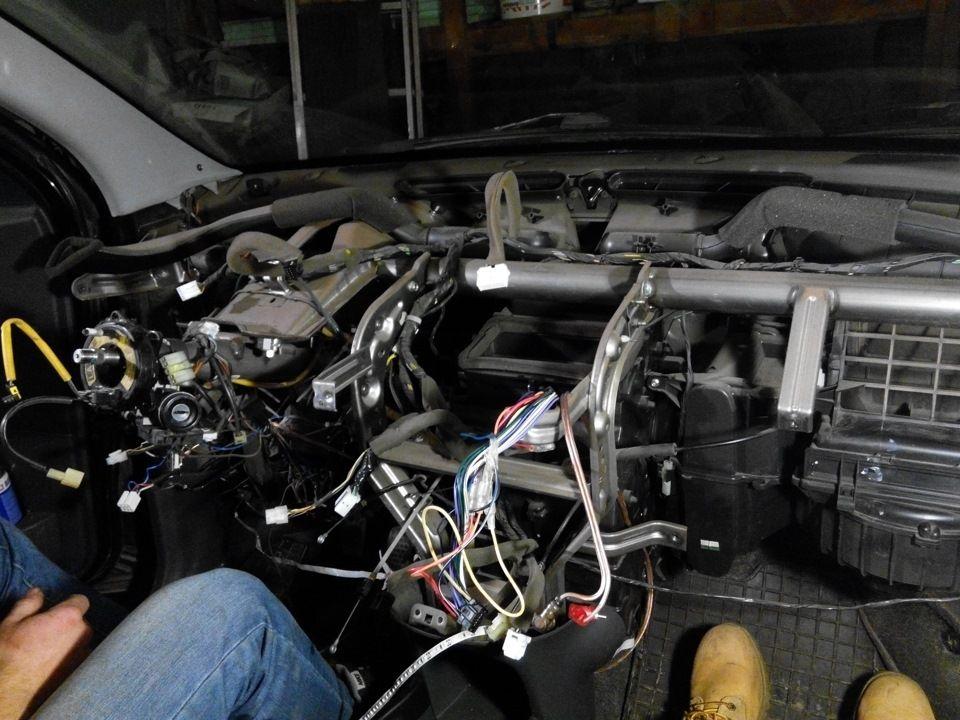 Замена радиатора отопителя Chevrolet Spark