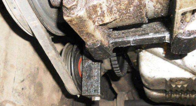 Замена ремня компрессора кондиционера Daewoo Lanos