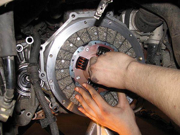 Замена сцепления Chevrolet Spark