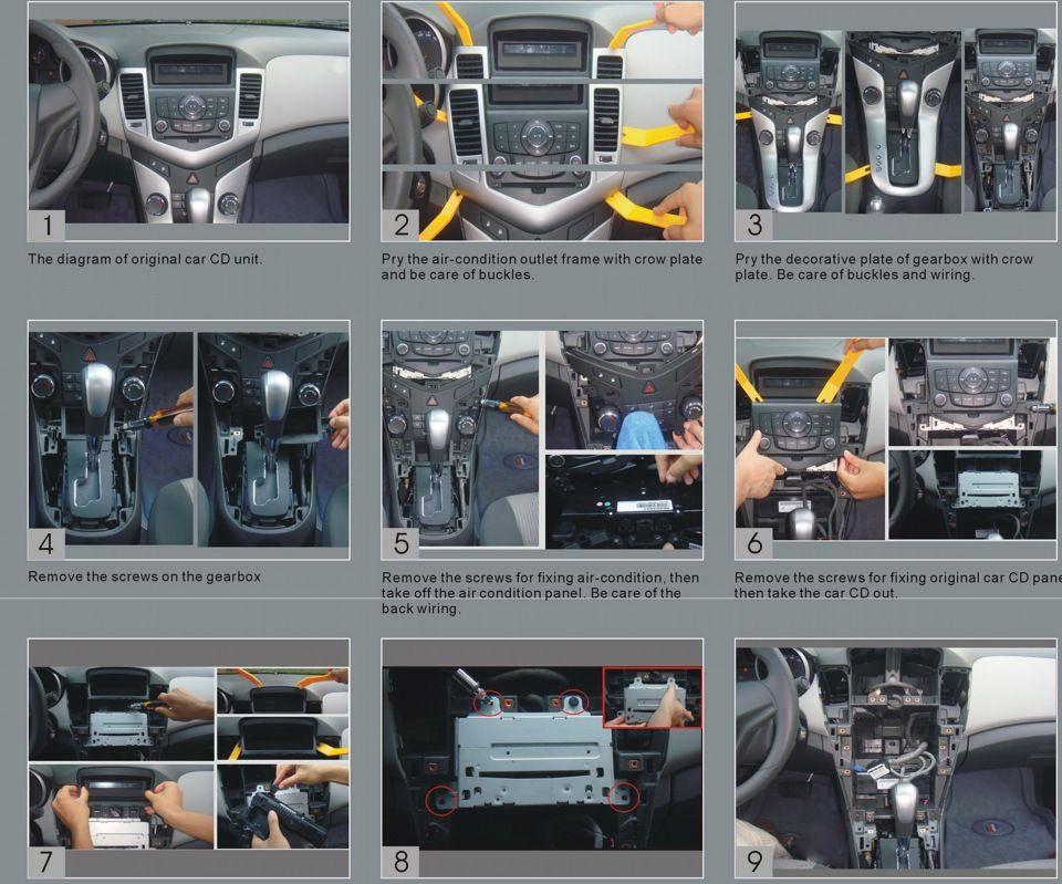 Замена штатной магнитолы Chevrolet Cruze