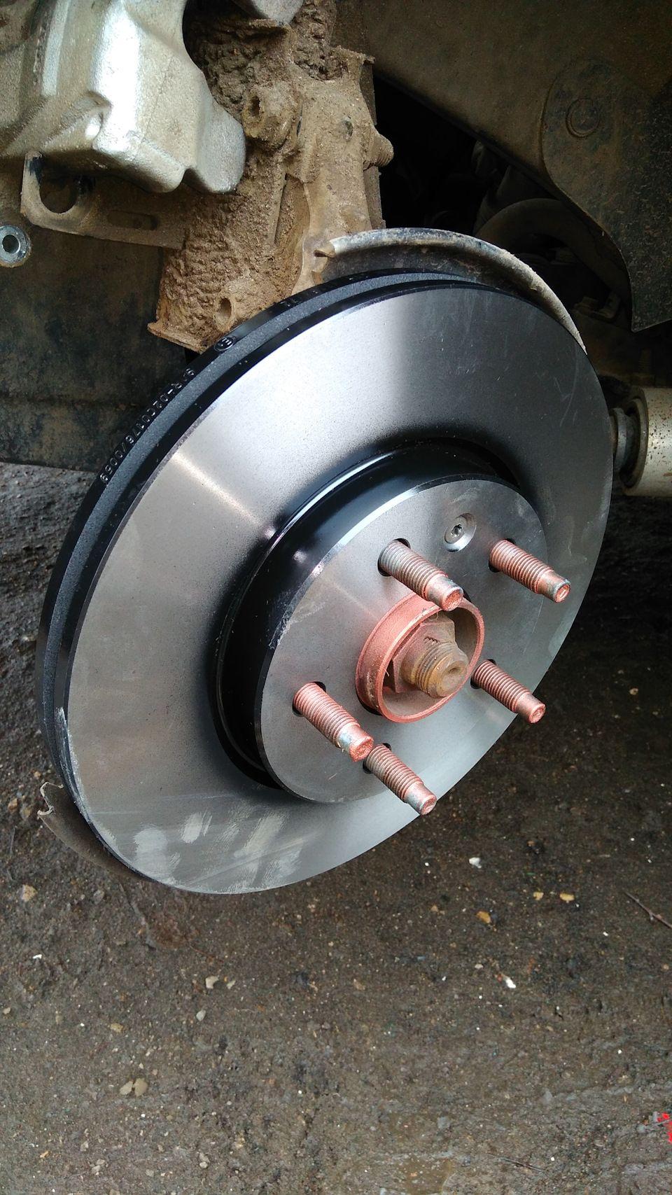 Замена тормозных дисков Chevrolet Cruze