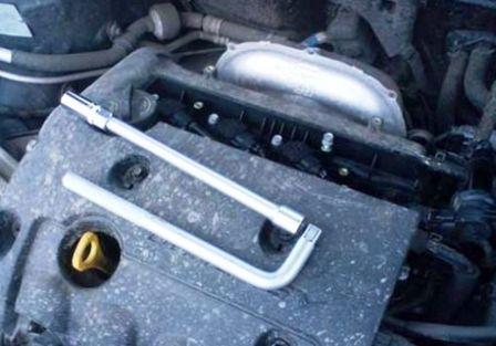 Инструменты для замены катушки зажигания Kia Ceed