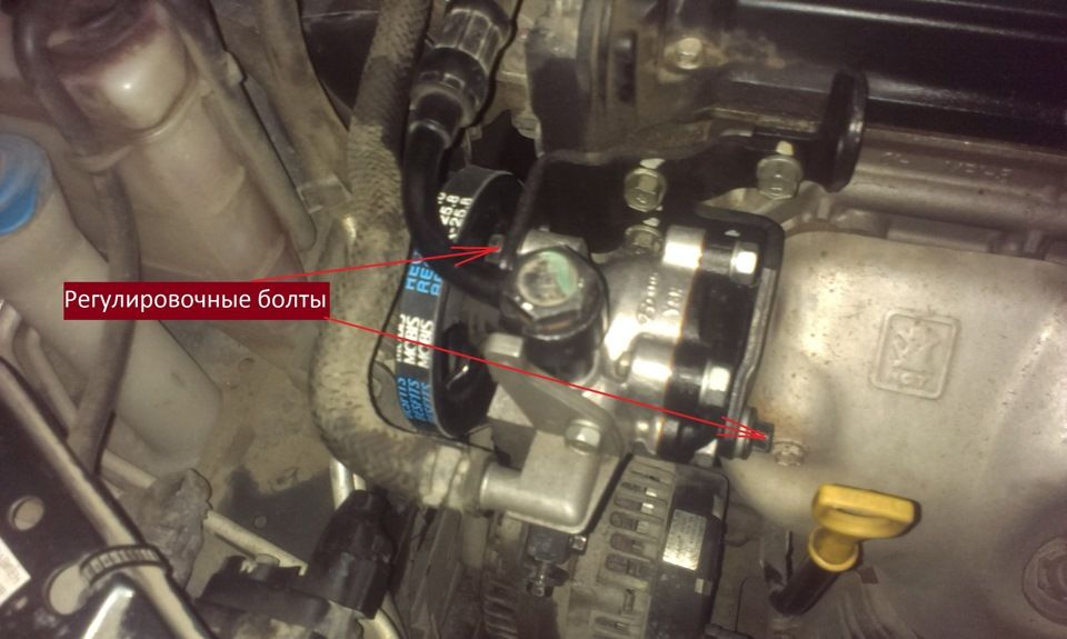 Схема подключения насоса ГУР Hyundai Accent