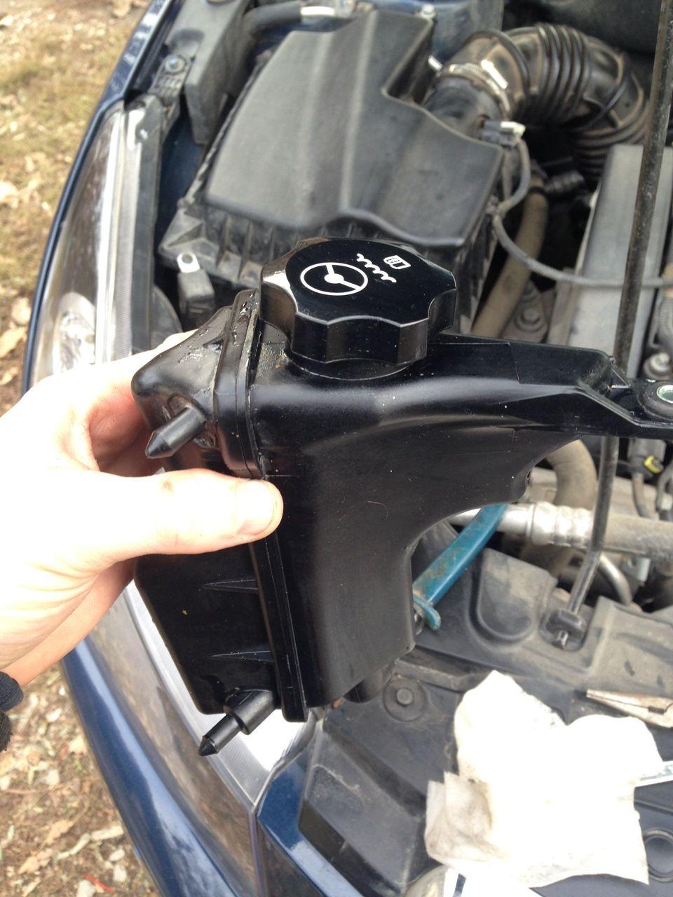 Замена жидкости ГУР Chevrolet Cruze