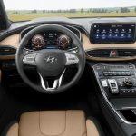 Панель приборов Hyundai Santa Fe 2020