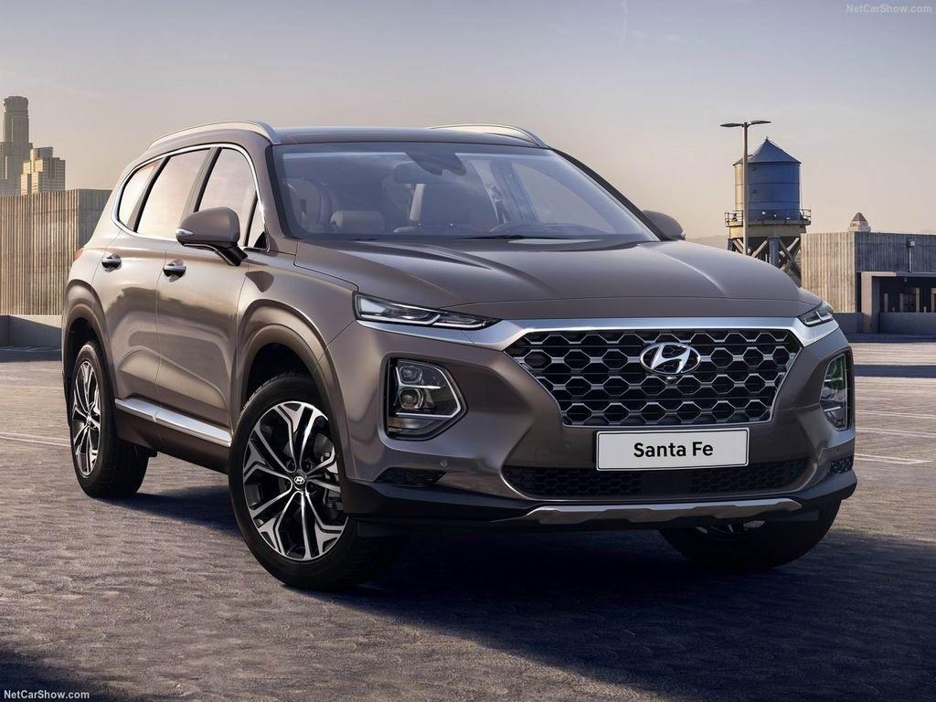 Экстерьер Hyundai Santa Fe 2020