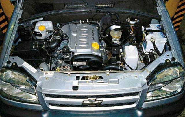 Двигатель Нива